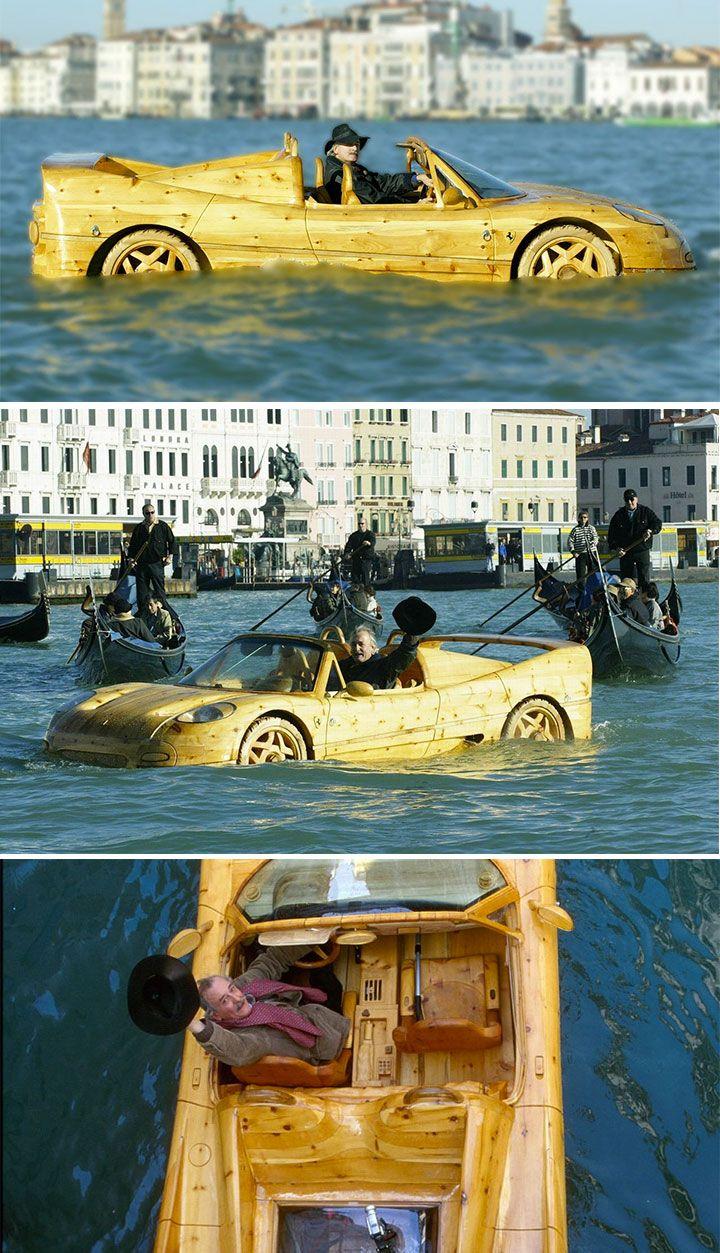 ALH-weird-boats-wooden-ferrari-boat