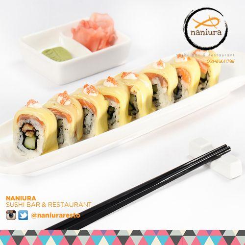 #BlazterRoll kamu harus coba ini kak! Rasanya ngeBlazt bgt dimulut Naniura Sushibar Restaurant Jakarta Timur 021-86611789 || Tag ur reviews #NaniuraSushi #Sushi #NaniuraMenu #DeliveryOrder #SushiLovers #SushiBar #SushiPorn #Jakarta #Kalimalang