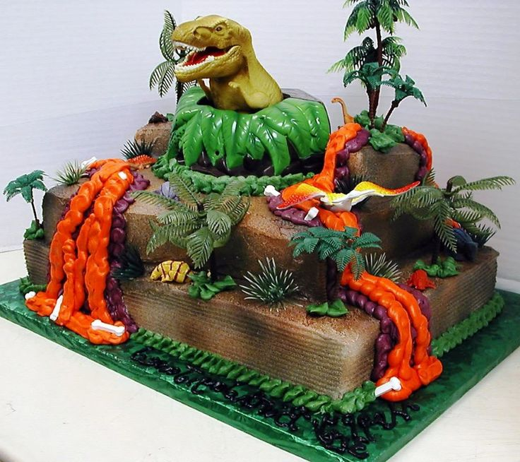 Dinosaur Cakes Designs Ideas Dinosaur Wedding Cake Topper