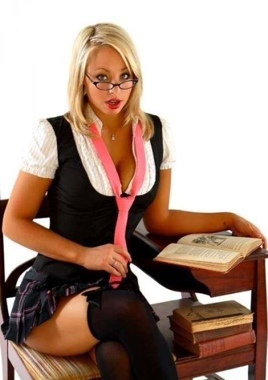 Sexy school girl costume diy-1029