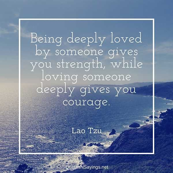 Image result for to be deeply loved by someone