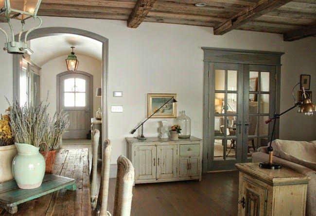 Estilo rustico casa rustica en la provenza rustic house - Decoracion francesa provenzal ...