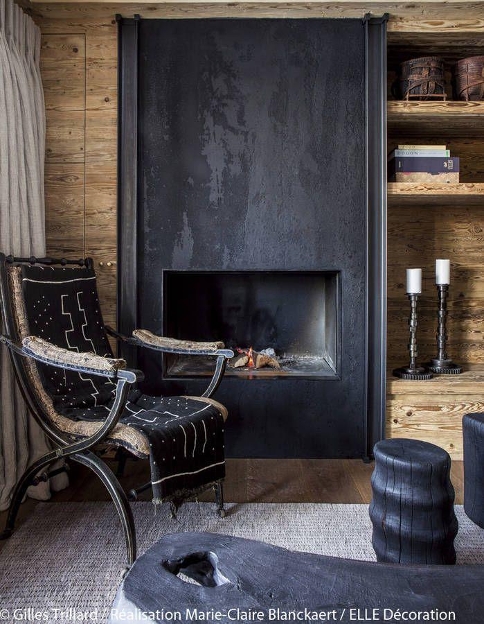 96 best d co chalet lodge decor images on pinterest. Black Bedroom Furniture Sets. Home Design Ideas