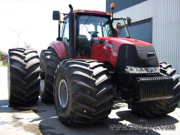 CaseIH Magnum 335 Love them big fat front tyres!!