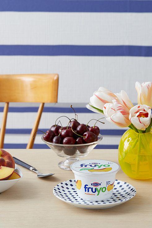 Η απόλυτα απολαυστική και φουλ καλοκαιρινή γεύση: Fruyo Ροδάκινο!
