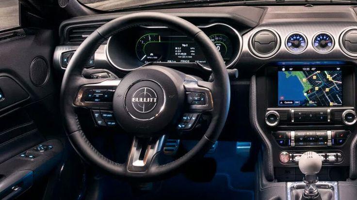 2019 Ford Mustang Bullitt Interior Luxury Rides