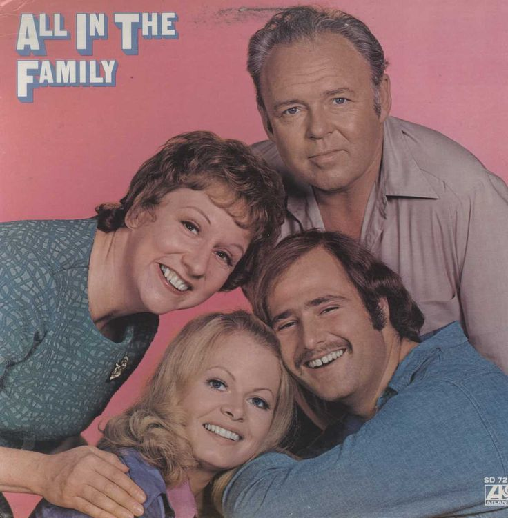 """All In The Family"" Cast - All In The Family"