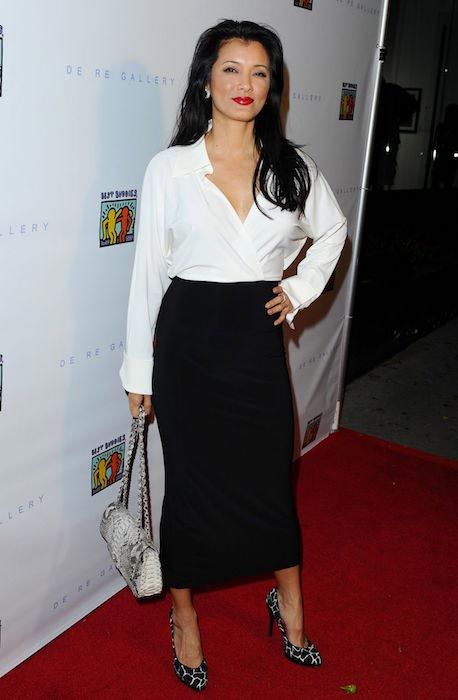 Kelly Hu at the art of Friendship Photo auction event in West Hollywood on March 3, 2016...