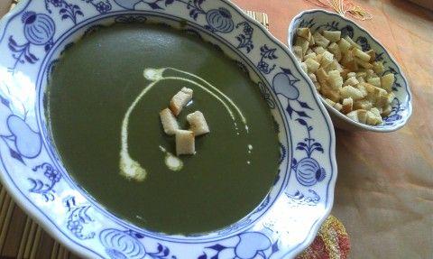 Brokolicová krémová polévka - Powered by @ultimaterecipe