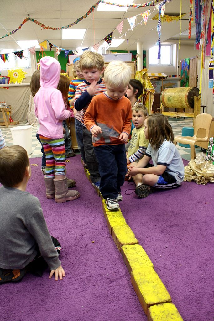 walking on the yellow brick road! There is something for a lesson plan here for 4th, just not sure yet... Or maybe a bulletin board idea- Follow the Yellow Brick Road
