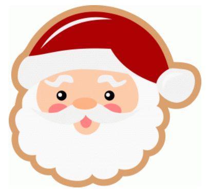 santa cookie by lisa norris #71342