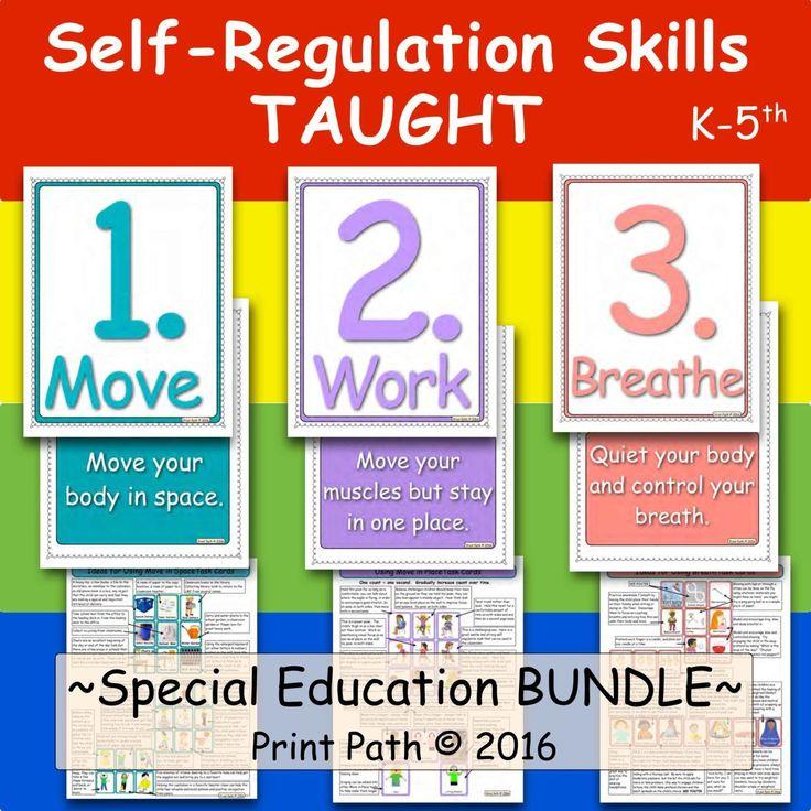 Self Regulation Curriculum for Autism, Behavioral Disturbance, Intellectual Disabilities, ADHD, Oppositional Defiant Disorder, Sensory Disregulation,