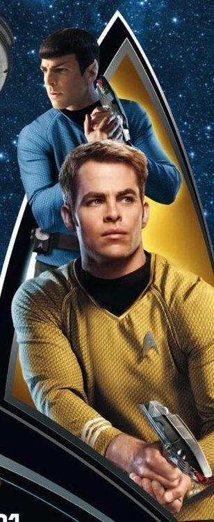 Star Trek my main reason of watching this was......Christopher Pine