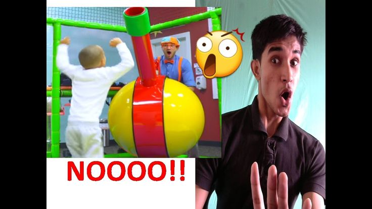 The Indoor Playground With Blippi REACTION
