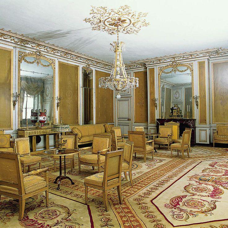 chateau de fontainebleau interior images | Château de Fontainebleau - Petits appartements : deuxième salon de l ...