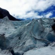Franz Joseph Glacier, New Zealand Taking on the adventure of life...