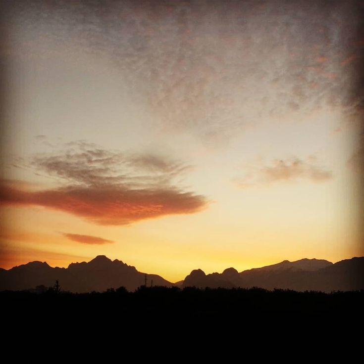 Nice sunset. #antalya #turkey