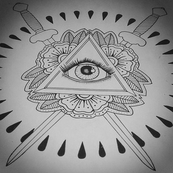 Illuminati Eye Tattoos : Page 43 -  Image transfers idea