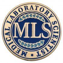 """MLS – Medical Laboratory Scientist"" Lapel Pin"