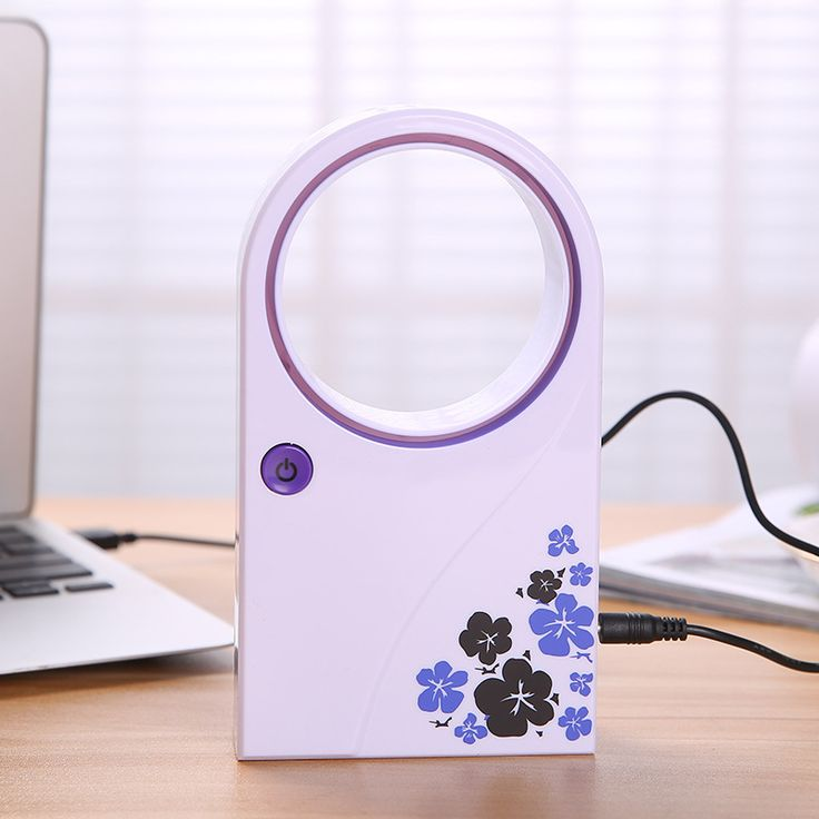 Fashion Safety Design Ultra quiet  No Leaf Bladeless Mini USB Gadgets Fan Desktop Air Conditioner Desktop Bladeless Fan Random-in Computer Desks from Furniture on Aliexpress.com | Alibaba Group