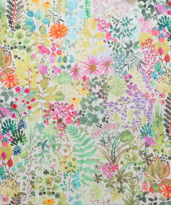 Liberty Furnishing Fabrics Citrus Fresco Cotton - FOOTSTOOL