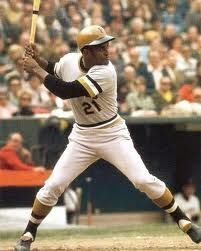 Roberto Clemente is a humble person of good attitude. In this picture it shows his skills at baseball.