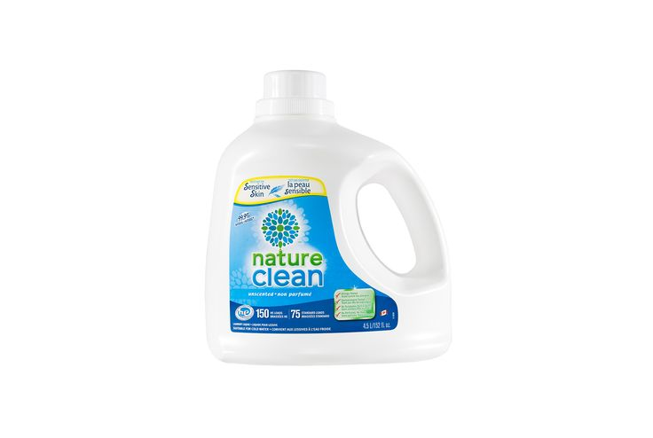 99.9% Natural Hypoallergenic Unscented Laundry Liquid 4.5L   Nature Clean
