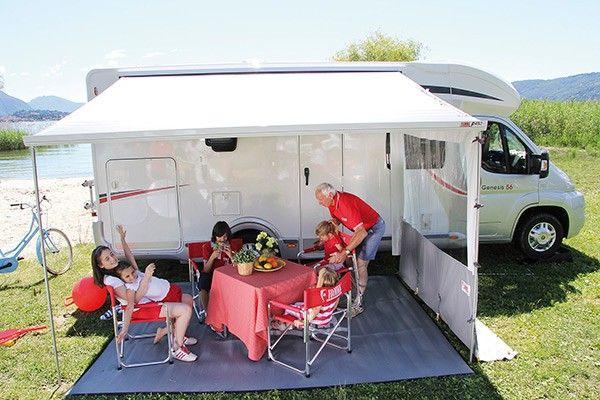 Fiamma Side Blocker Pro F45 F65 With Window Riversway Leisure Leisure Camper Van Traditional Style