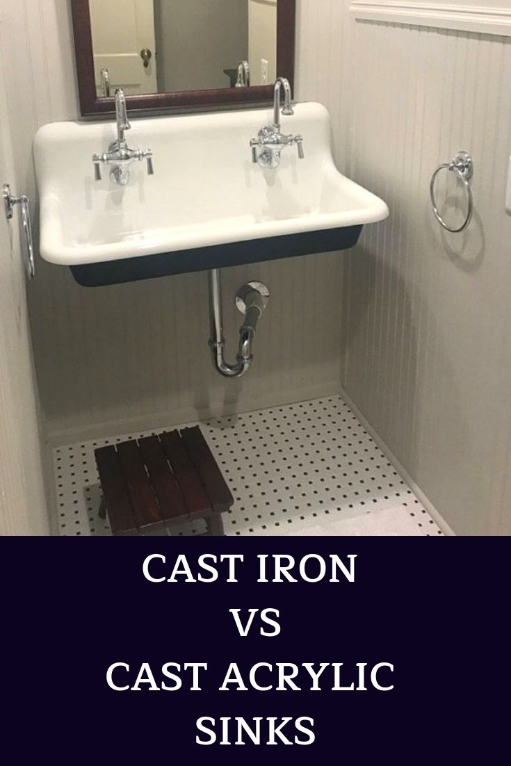 Know The Difference Between Cast Acrylic And Cast Iron Sinks