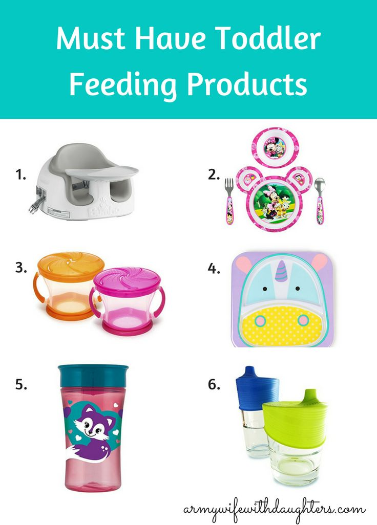 Must have toddler feeding products. Make toddler mealtime easier.