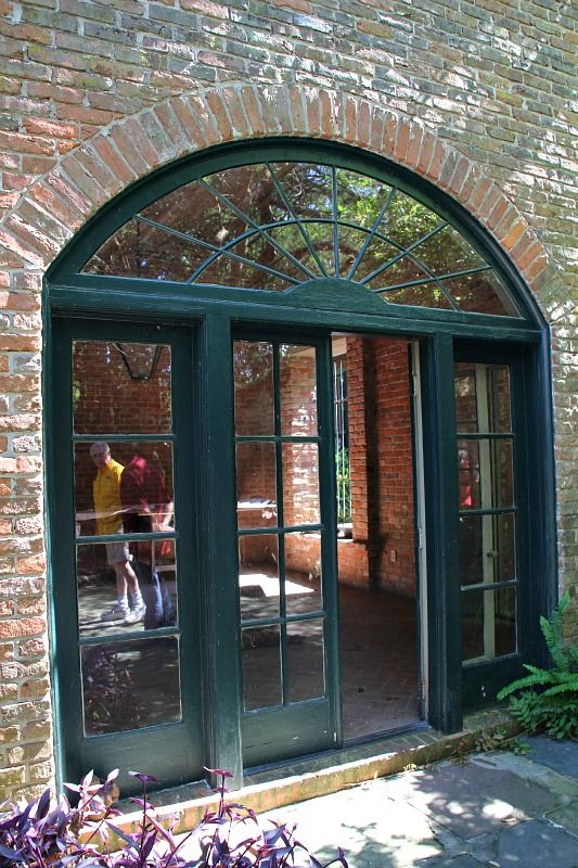 Arched Transom Of Former Architectural Studio At The Home