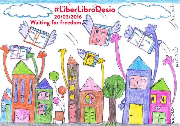 Domenica 20 Marzo - Desio MB - Libera un libro per festeggiare la primavera! Lascia un tuo libro con una piccola dedica in giro per la città e prendine un altro. #liberlibrodesio #abbracciebaci