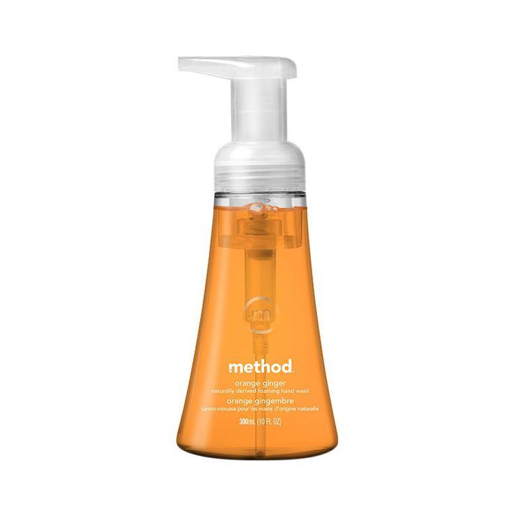 Method Foaming Hand Soap Orange Ginger - 10oz
