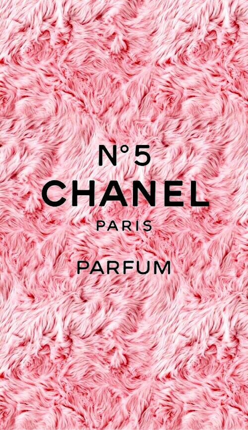 Pink wallpaper Chanel