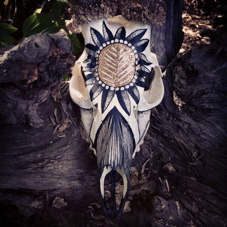 skull art / INKTICA / Jagoda Matuła