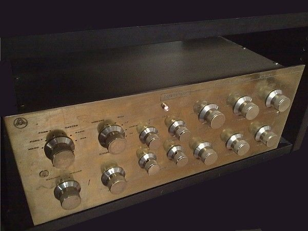 Rare tube pre amp Audiotec ST-101  (Made in Italy)