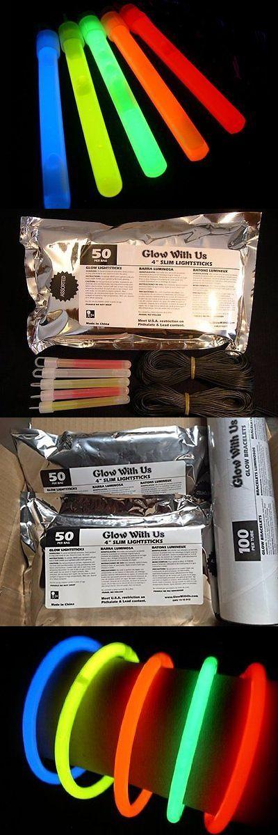 """Glow Sticks 51019: Glow Sticks Bulk Wholesale, 100 4"""" Glow Stick Light Sticks+100 Free Glow Bright -> BUY IT NOW ONLY: $46.92 on eBay!"""