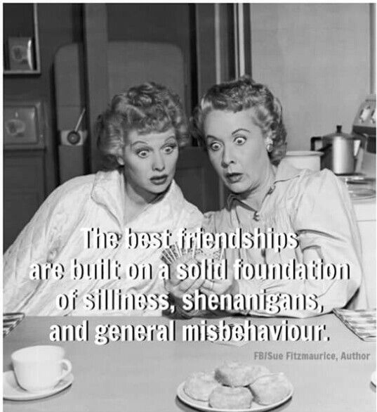 Yes! Loved Lucy and Ethel! :)