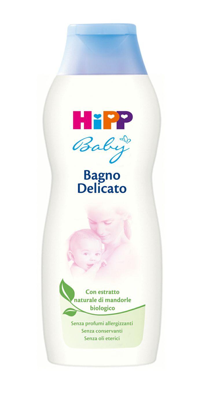 HiPP Baby Bagno Delicato: si prende cura della pelle del neonato lasciandola morbida e vellutata. Con estratto naturale di #mandorle #bio - 350 ml