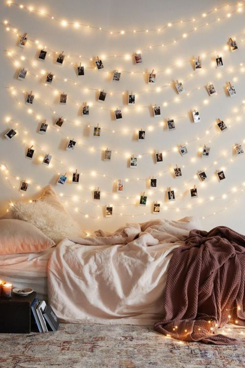 25 Best Ideas About Christmas Lights Bedroom On Pinterest