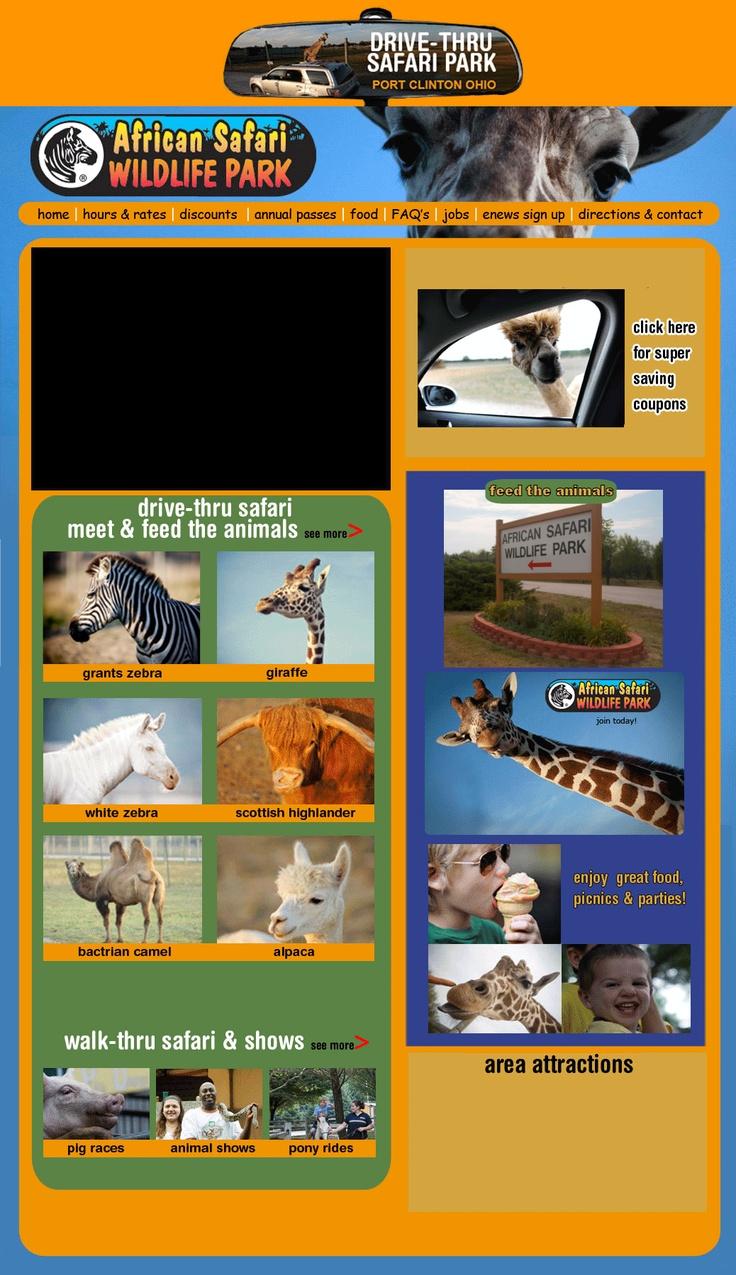 African safari wildlife park near sandusky ohio