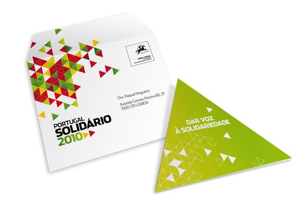 Portugal Solidário Conference by Rui Granjo, via Behance