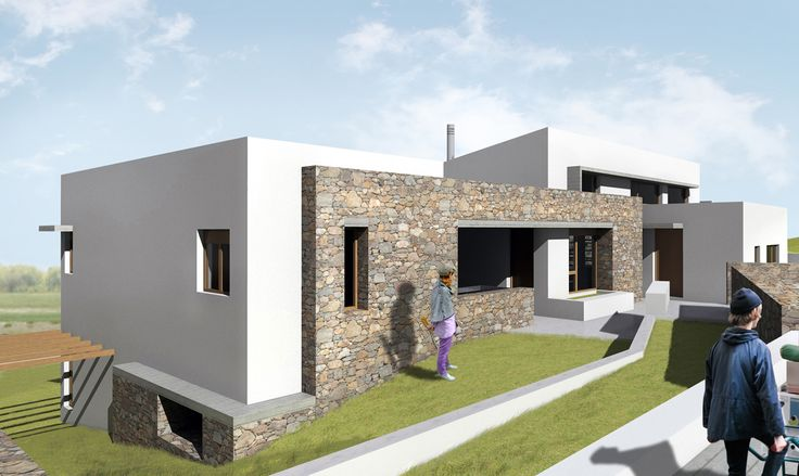 Family House in Evia