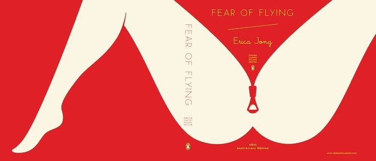 US cover design (Paul Buckley) for new edition of Fear of Flying.