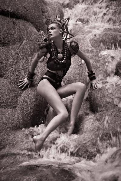 Ultimate Tribe! Leila Goldkuhl in Top Model 19 (ANTM)
