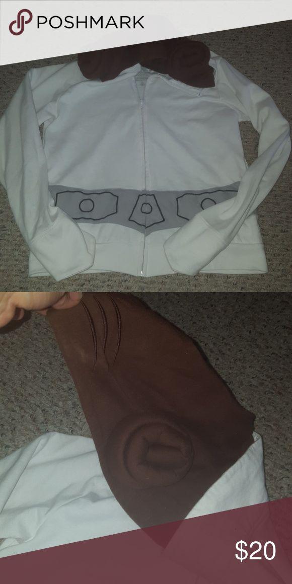 Rare star wars hoodie with princess leai hood Rare hoodie with princess leai hood. Star Wars Tops