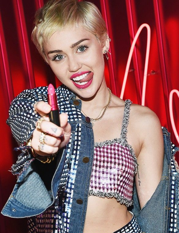 Exclusive: Miley Cyrus on Face Shaving, Beauty Anxieties, and More via @byrdiebeauty