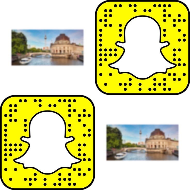 First clue is up on snapchat ! Scan the code and see what's behind the blurry…