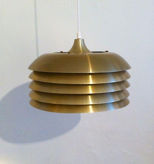 "Swedish designer Hans-Agne Jakobsson for Markaryd. 1970's design. Visit ""nonamevintageshop"" on Instagram for moore lamps. http://instagram.com/p/yxBh-vu8vT/?modal=true"