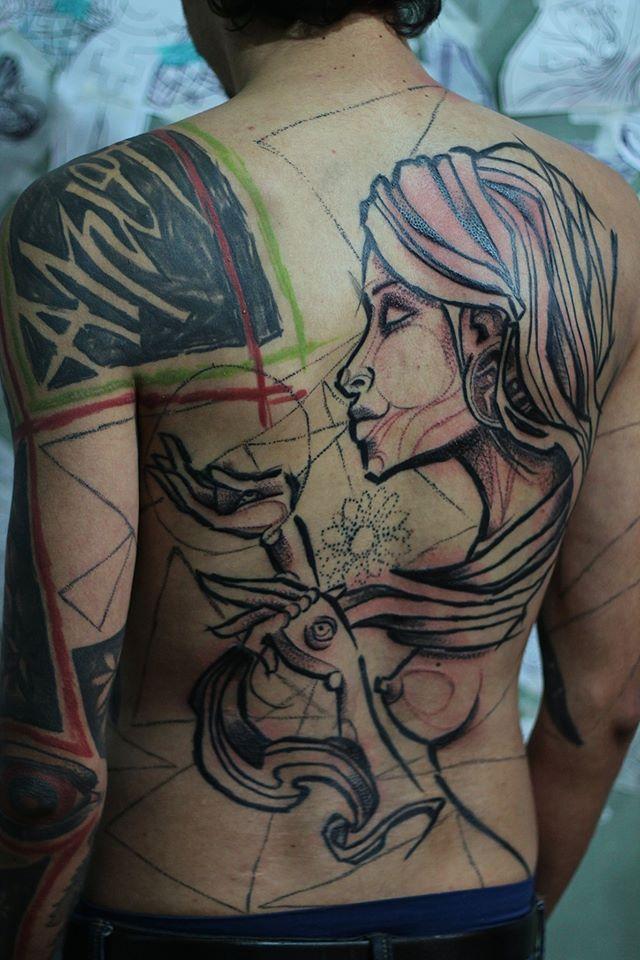 André Cruz Tattoo